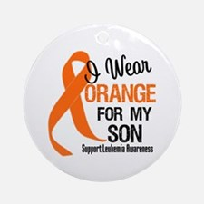 I Wear Orange For My Son Ornament (Round)