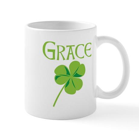 Grace shamrock Mug