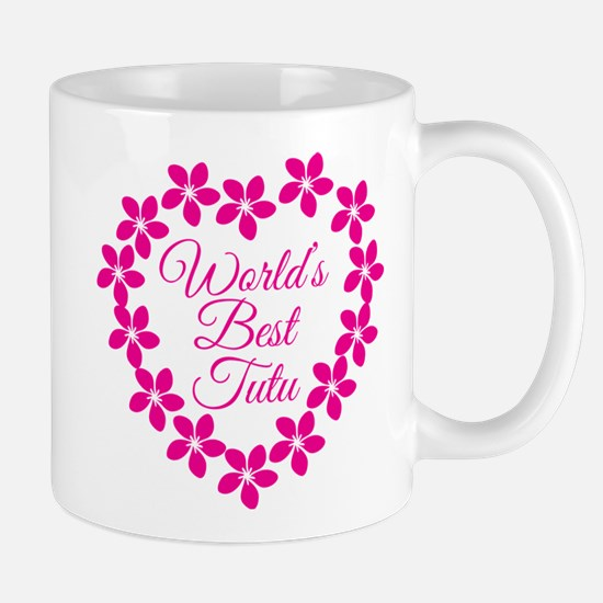 World's Best Tutu Mugs