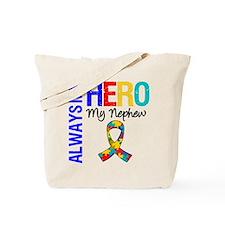 Autism Hero Nephew Tote Bag