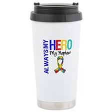 Autism Hero Nephew Travel Mug
