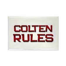 colten rules Rectangle Magnet