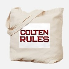 colten rules Tote Bag