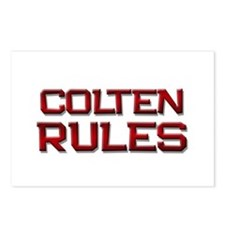 colten rules Postcards (Package of 8)
