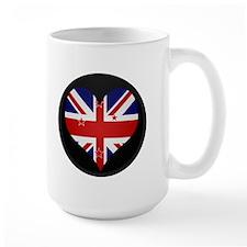 I love New Zealand Flag Mug