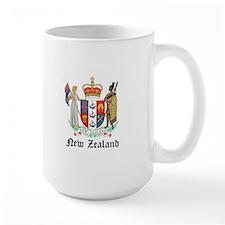New Zealander Coat of Arms Se Mug
