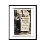 Kaiser Wilson - Suffragist Framed Panel Print
