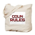colin rules Tote Bag
