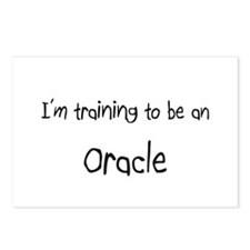 I'm Training To Be An Oracle Postcards (Package of