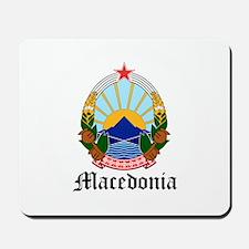 Macedonian Coat of Arms Seal Mousepad