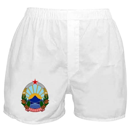 Macedonia Coat of Arms Boxer Shorts