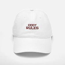 cody rules Baseball Baseball Cap