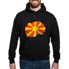 Macedonia Flag Map Hoodie