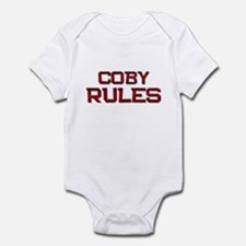 coby rules Infant Bodysuit