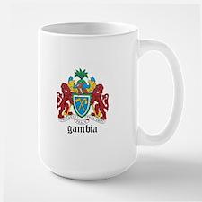 Gambian Coat of Arms Seal Mug