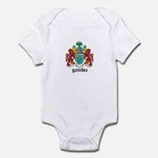 Gambian Coat of Arms Seal Onesie