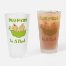 Unique Two peas Drinking Glass