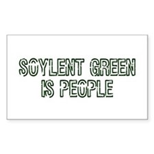Soylent Green Is People Rectangle Decal