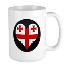 I love Georgia Flag Mug