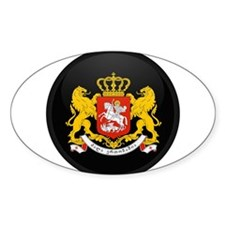 Coat of Arms of Georgia Oval Decal
