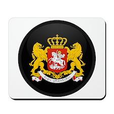 Coat of Arms of Georgia Mousepad