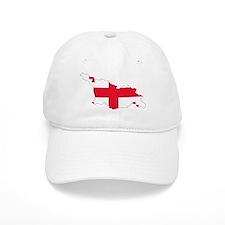 Georgia Flag Map Baseball Cap