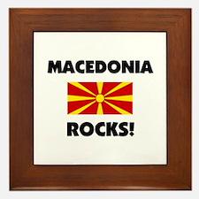 Macedonia Rocks Framed Tile