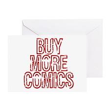 Buy More Comics Greeting Card