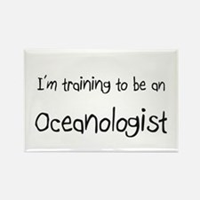 I'm Training To Be An Oceanologist Rectangle Magne