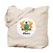 Ghanaian Coat of Arms Seal Tote Bag