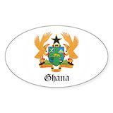 Ghana flags Single