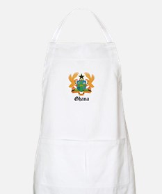 Ghanaian Coat of Arms Seal BBQ Apron