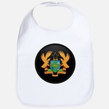 Coat of Arms of ghana Bib