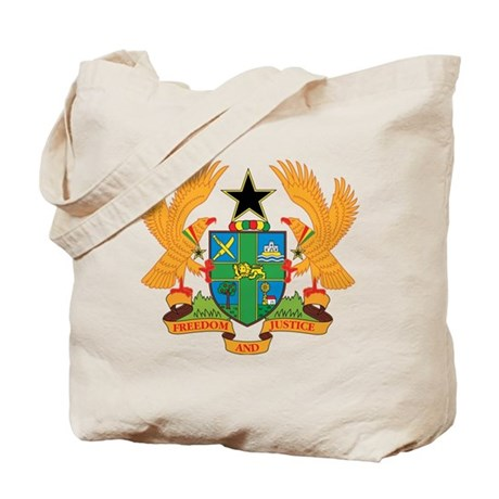 ghana Coat of Arms Tote Bag