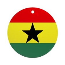 Ghanaian Ornament (Round)
