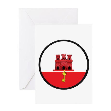 Gibraltar Greeting Card