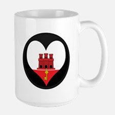 I love Gibraltar Flag Mug