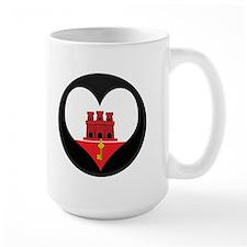 I love Gibraltar Flag Mug