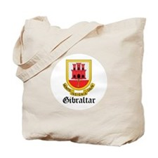 Gibraltarian Coat of Arms Sea Tote Bag