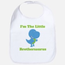 I'm The Little Brothersaurus Baby Bib