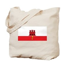 Gibraltar Flag Tote Bag