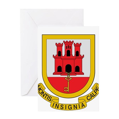 Gibraltar Coat of Arms Greeting Card