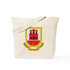 Gibraltar Coat of Arms Tote Bag