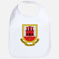 Gibraltar Coat of Arms Bib