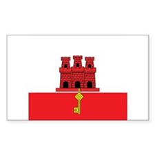 Gibraltarian Rectangle Decal