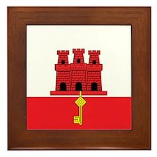 Gibraltarian Framed Tile