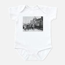 Unique Russian army Infant Bodysuit