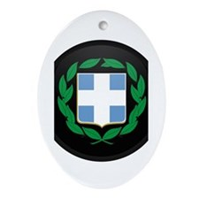 Coat of Arms of Greece Oval Ornament