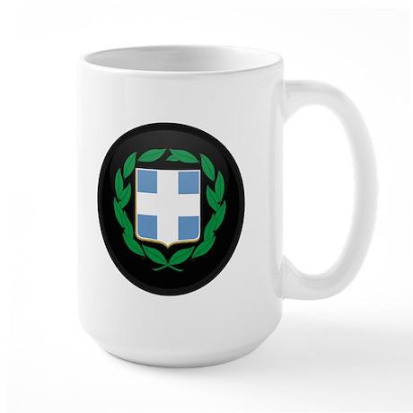 Coat of Arms of Greece Large Mug