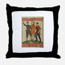 Funny Soviet Throw Pillow
